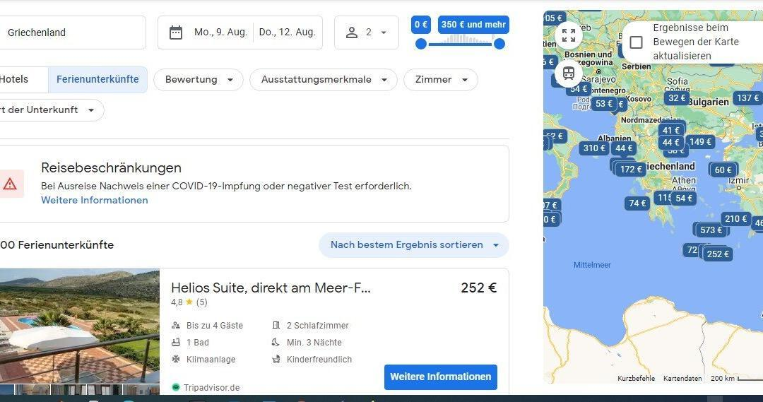 Google for Vacation Rentals